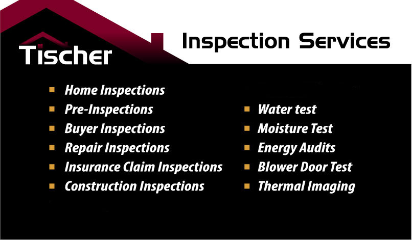 business card tischer home inspection